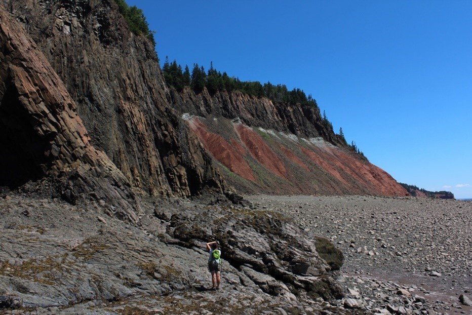 Cliff of Fundy Geopark