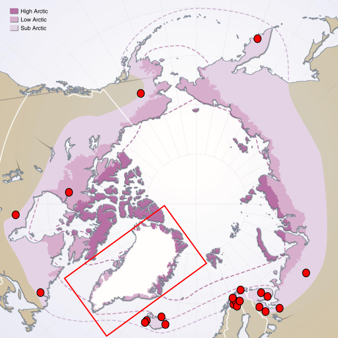 Presence of geoengineering earthworms in the Arctic