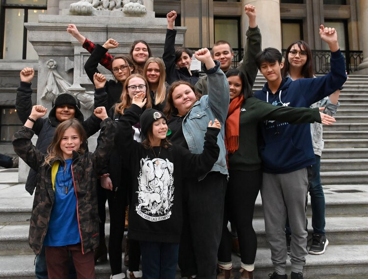 15 youth plaintiffs: La Rose v. Her Majesty the Queen lawsuit