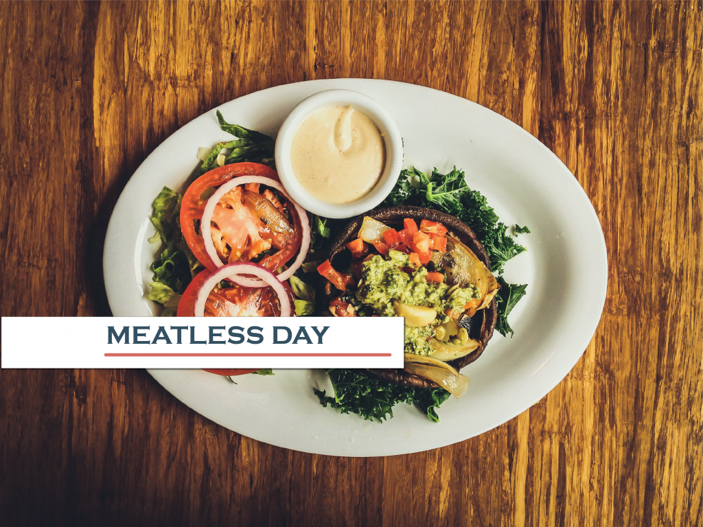 Environment and Sustainability - Meatless Day